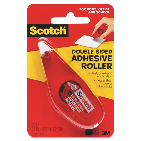 Scotch Double-Sided Tape Roller