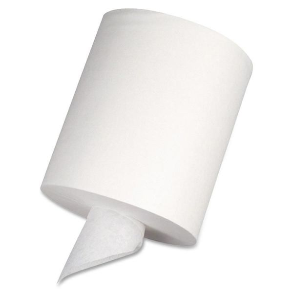 Georgia Pacific Professional SofPull Center-Pull Perforated Paper Towels,7 4/5 x 15, 1-Ply, White, 320 Sheets/Roll, 6 Rolls/Carton