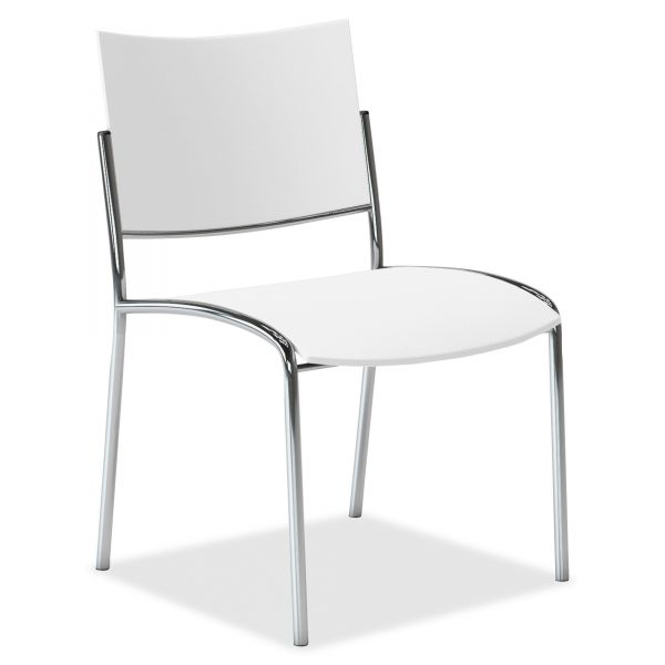Mayline Escalate Plastic Stacking Chairs