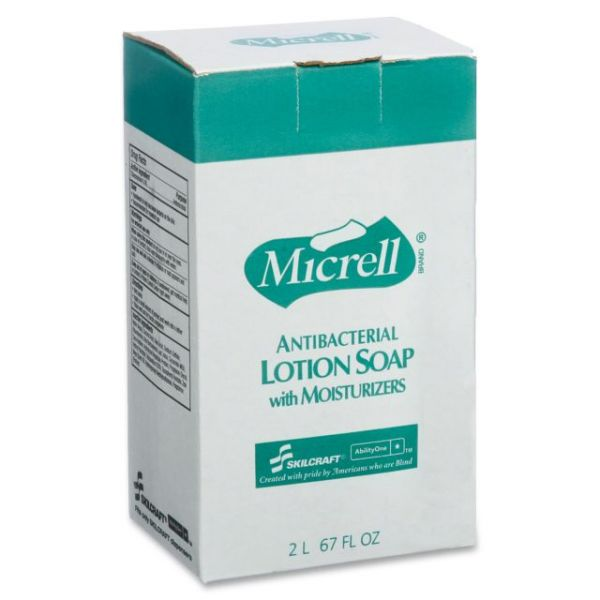 SKILCRAFT MICRELL Antibacterial Hand Soap Refill