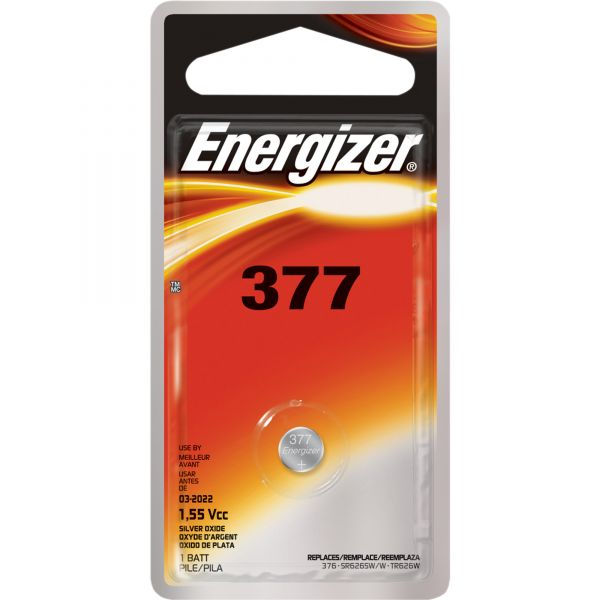 Energizer 377 Watch/Electronic Battery