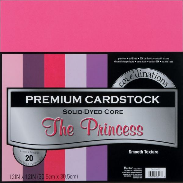 Core'dinations Premium Smooth The Princess Cardstock