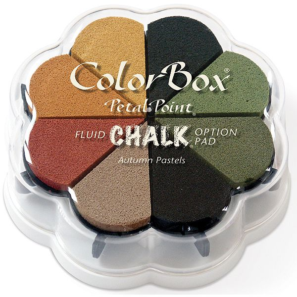 ColorBox Fluid Chalk Petal Point Option Ink Pad 8 Colors