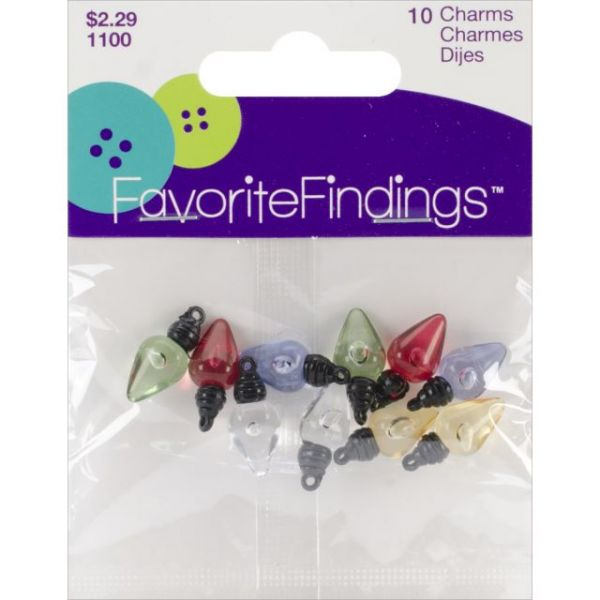 Favorite Findings Holiday Buttons