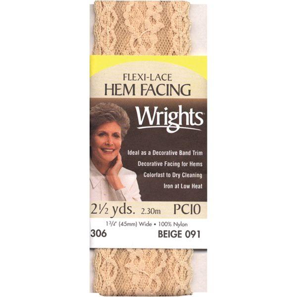 Flexi-Lace Hem Facing