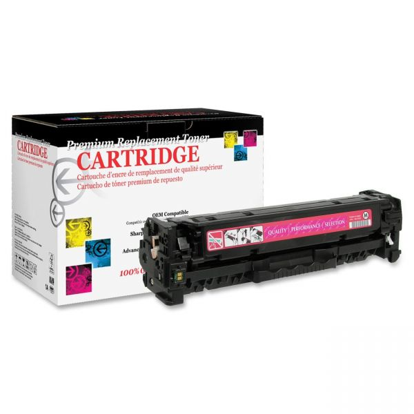 West Point Products Remanufactured HP CC533A Magenta Toner Cartridge