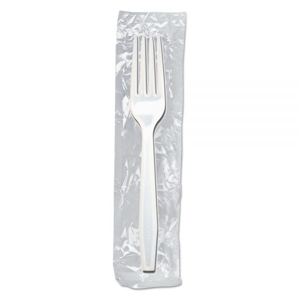 Dispoz-o Enviroware Individually Wrapped Heavyweight Forks