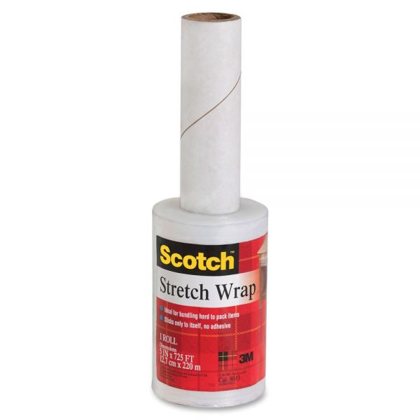 Scotch Lightweight Stretch Wrap Film on Hand-held Dispenser