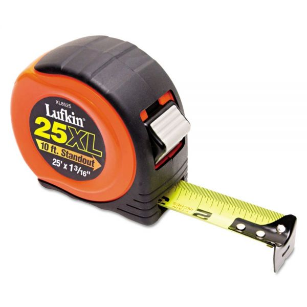 "Lufkin 800 Series Xtra-Wide Power Return Tape, 1-3/16"" x 25ft"