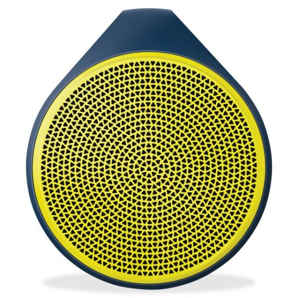 Logitech X100 Speaker System - Wireless Speaker(s) - Yellow