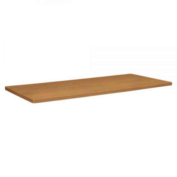 basyx Rectangular Conference Table Top, 96w x 44d, Harvest