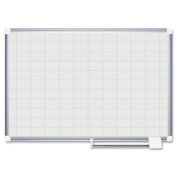 MasterVision Grid Planning Board, 36x48 Cork/Black