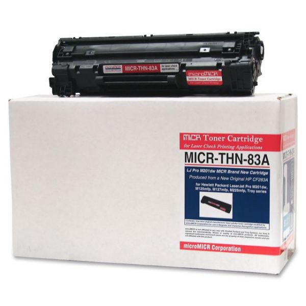 Micromicr Remanufactured HP 83A MICR Toner Cartridge