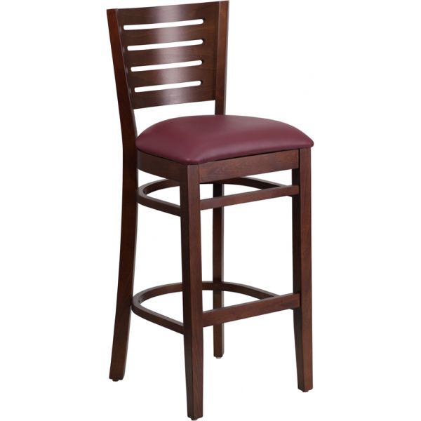 Flash Furniture Darby Series Slat Back Barstool