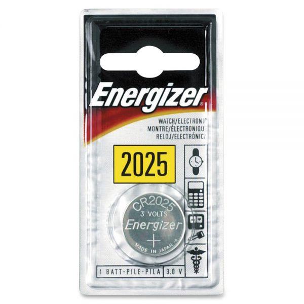 Energizer 2025 Watch/Calc. 3 Volt Battery