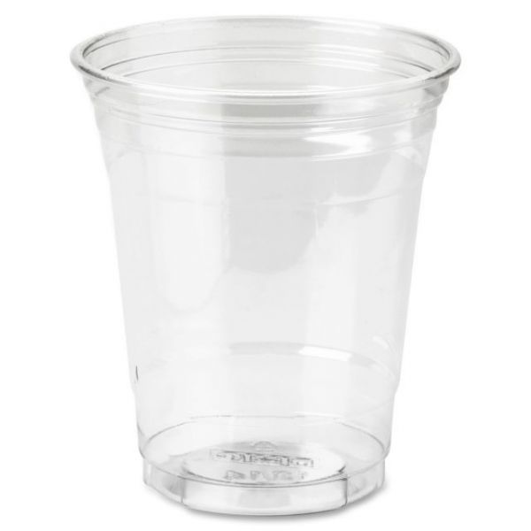 Dixie Crystal Clear 12 oz Plastic Cups