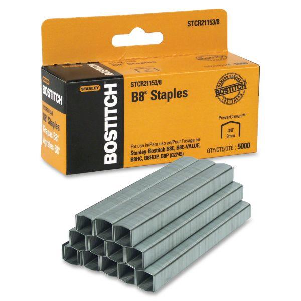 "Stanley-Bostitch B8 Premium 3/8"" PowerCrown Staples"