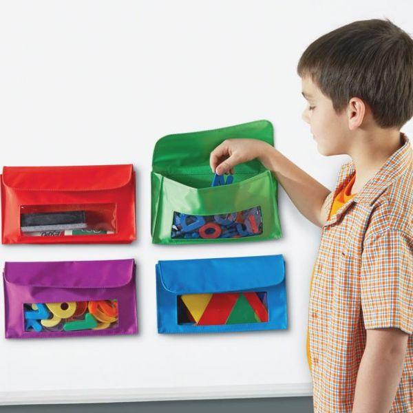 Learning Resources Magnetic Storage Pocket Set