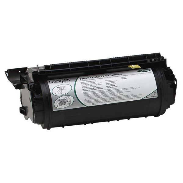 Lexmark 12A5840 Black Return Program Toner Cartridge