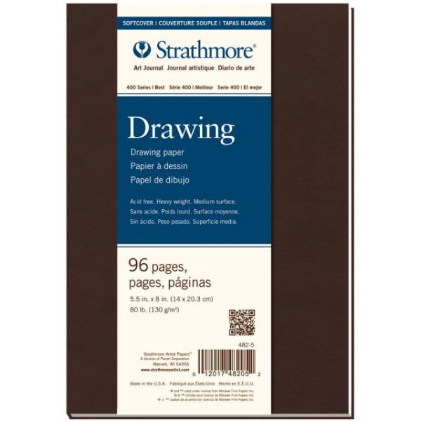 "Strathmore Softcover Drawing Journal 5.5""X8"""