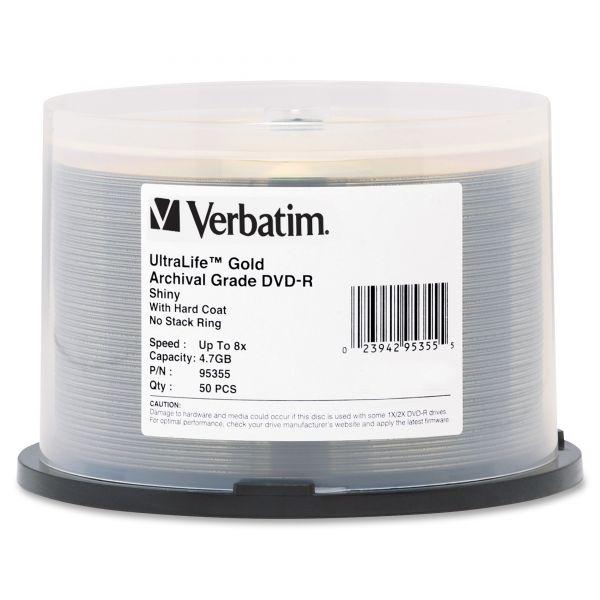 Verbatim UltraLife Recordable DVD Media