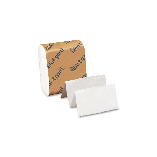 Georgia Pacific Professional Tissue for Safe-T-Gard Dispenser, 4 x 10, 2-Ply, White, 200 Sheets/Pack, 40 Packs/Carton