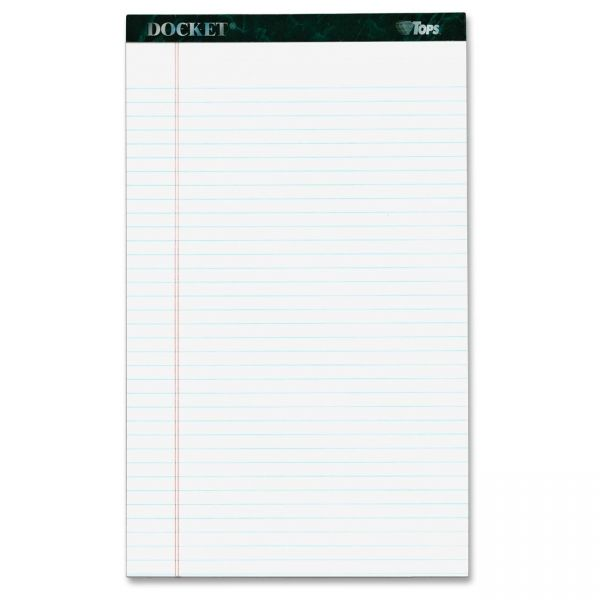 TOPS Docket Legal Pads