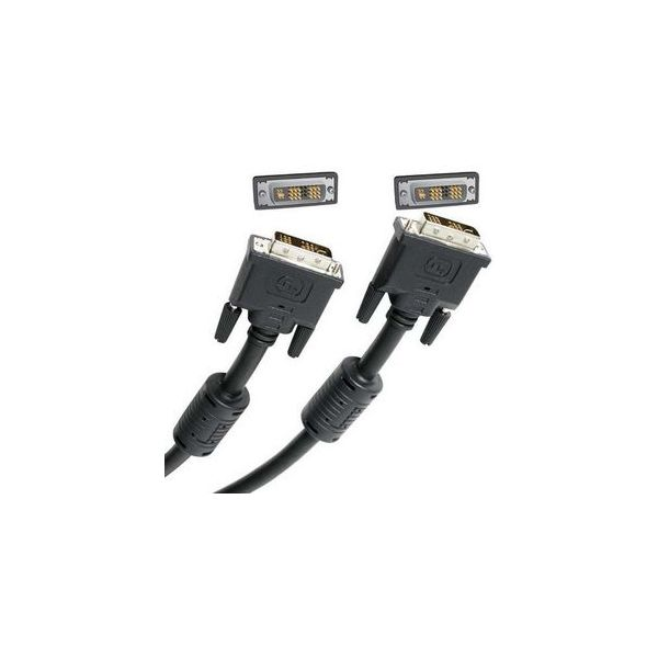 StarTech.com 6 ft DVI-I Single Link Digital Analog Monitor Cable M/M