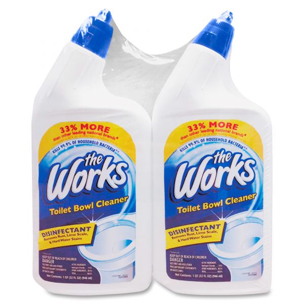 The Works Disinfectant Toilet Bowl Cleaner