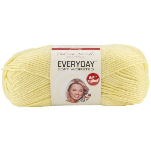 Deborah Norville Collection Everyday Yarn - Baby Yellow