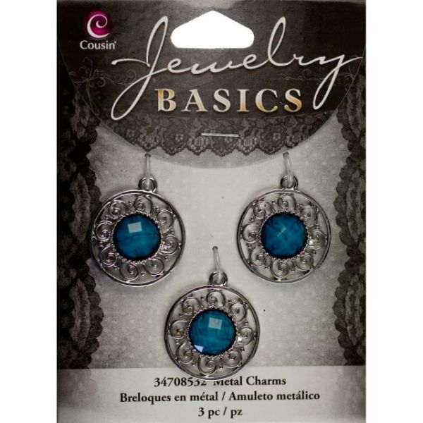 Jewelry Basics Metal Charms