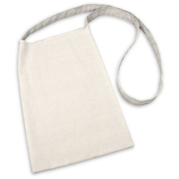 "Canvas Medium Shoulder Bag 8.5""X13"""