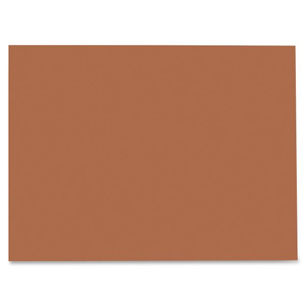 SunWorks Brown Construction Paper