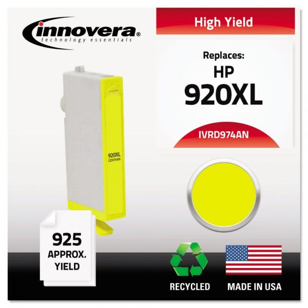 Innovera Remanufactured HP 920XL High Yield Ink Cartridge