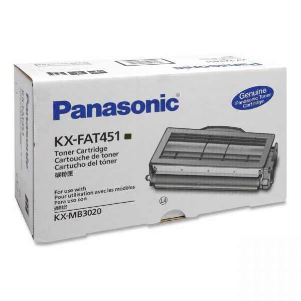 Panasonic KX-FAT451 Black Toner Cartridge