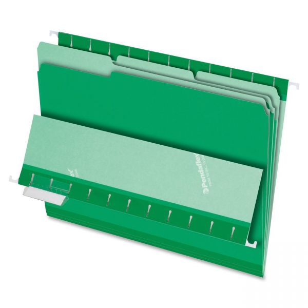 Pendaflex Green Colored File Folders
