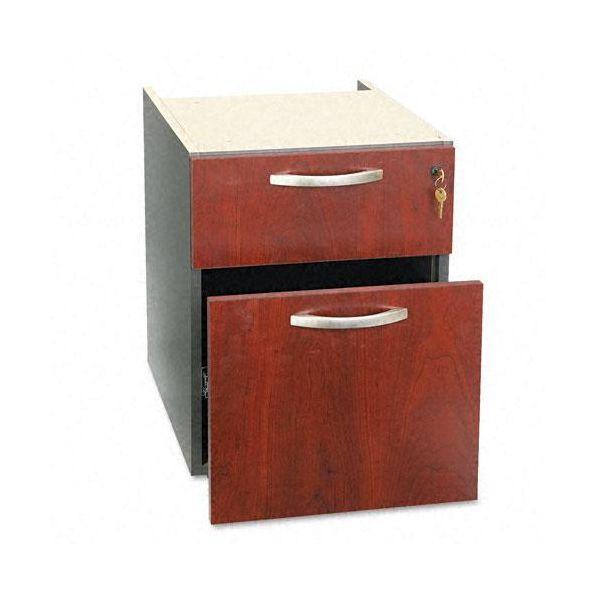 Bush Furniture 3/4 Pedestal (B/F) (Assembled) Series C Hansen Cherry