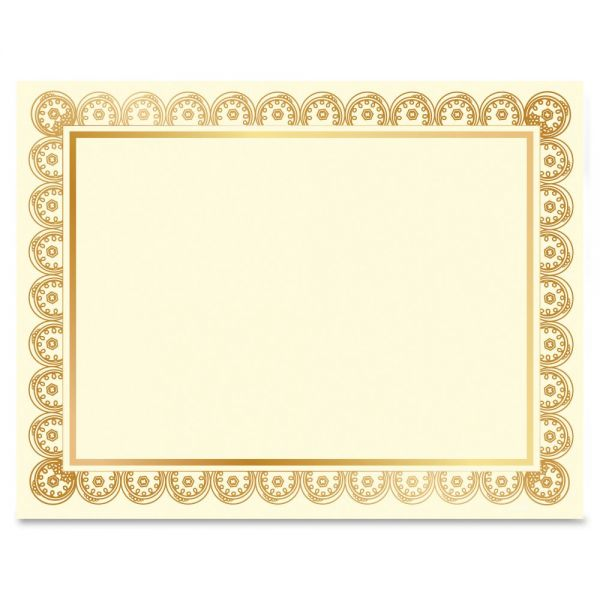 Geographics Laser/Inkjet Gold Foil Certificate