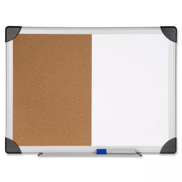 Lorell Combination Dry Erase/Cork Board