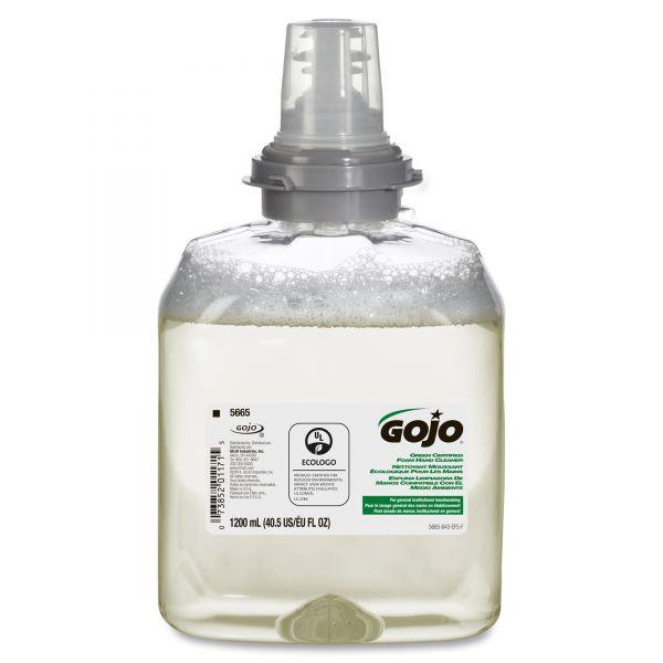 GOJO TFX Green Certified Foam Hand Soap Refills