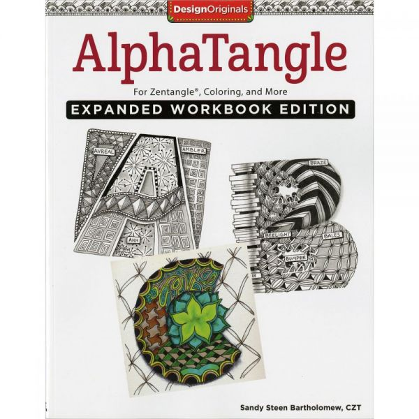 Design Originals: Alphatangle Epanded Workbook Edition Drawing Book