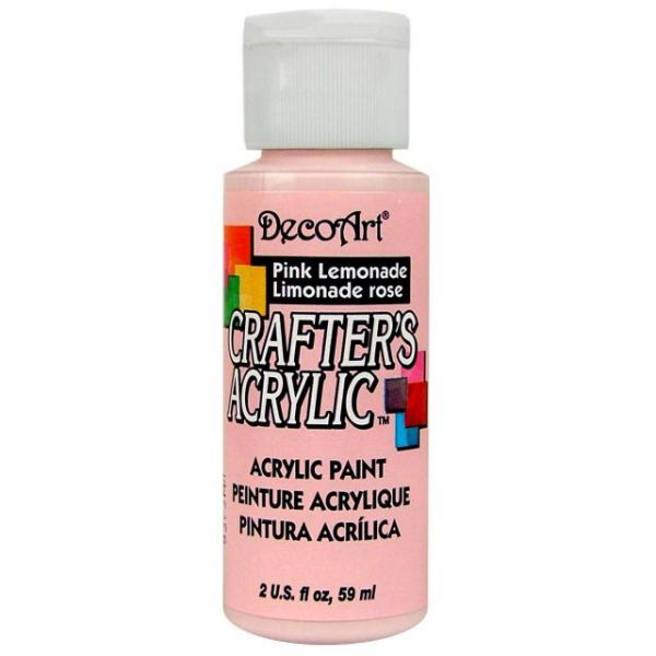 Deco Art Crafter's Acrylic Pink Lemonade Acrylic Paint