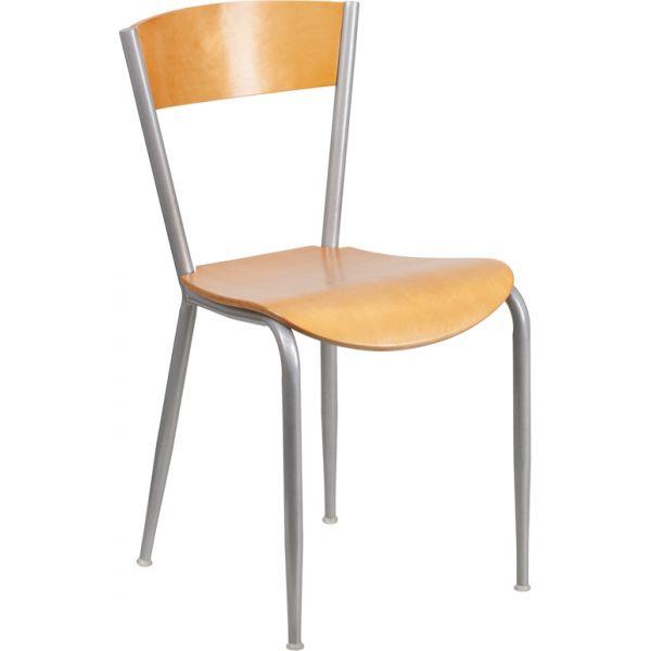 Flash Furniture Invincible Series Metal Restaurant Chair