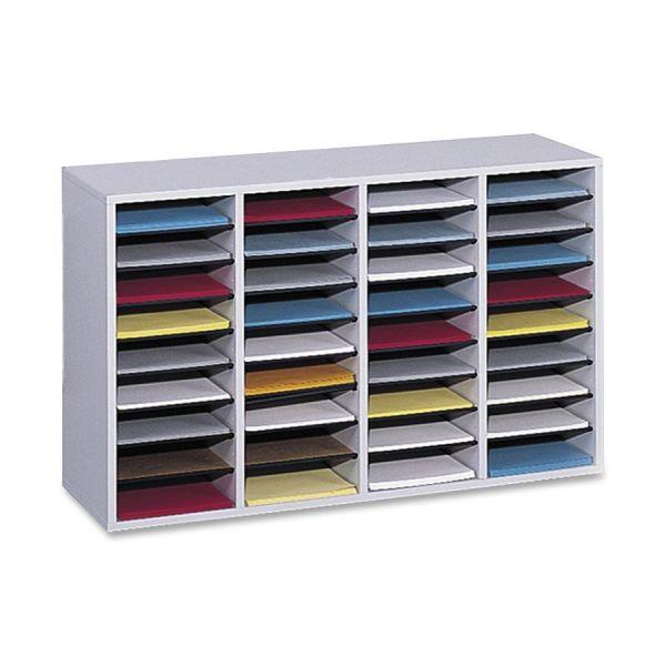 Safco Adjustable Shelf Literature Organizer