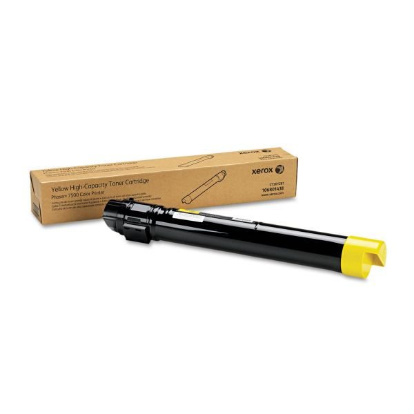 Xerox 106R01438 Yellow High Yield Toner Cartridge