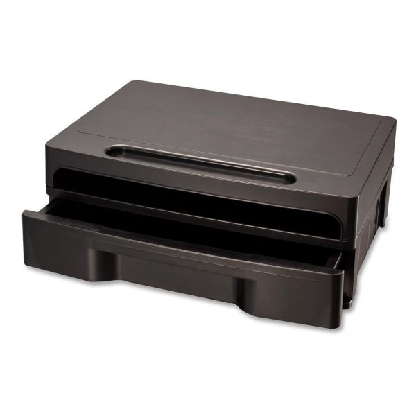 OIC Monitor Stand with Drawer