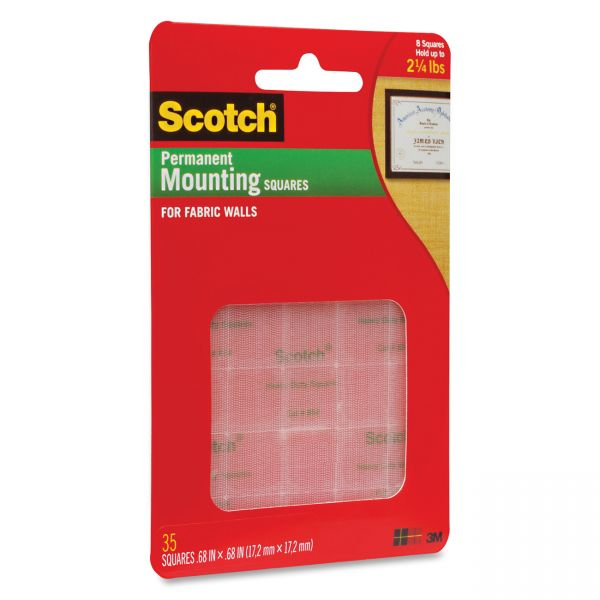 Scotch Fabric Wall Mounting Grips