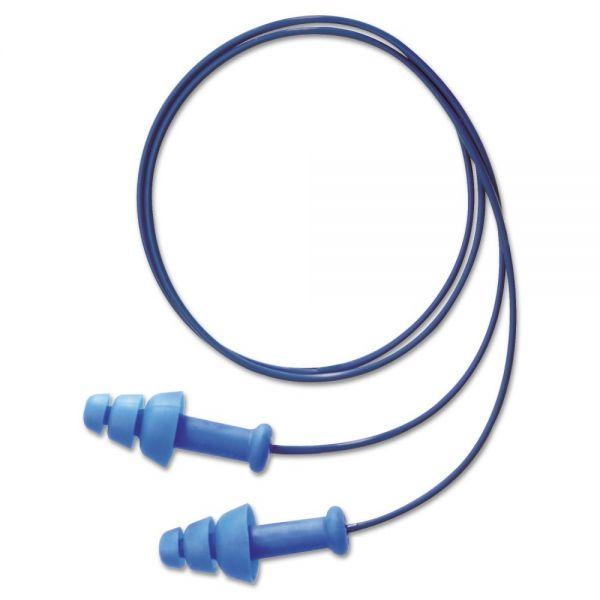 Howard Leight by Honeywell SmartFit Detectable Triple Flange Earplug, 25NRR