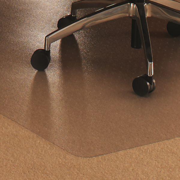 Cleartex Rectangular Medium Pile Chair Mat