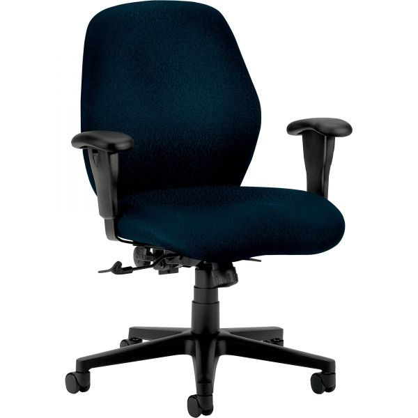 HON 7800 Series Mid-Back Task Chair, Tectonic Mariner